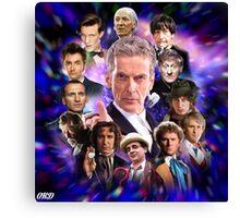 Doctor Who - Thirteen Doctors Canvas Print