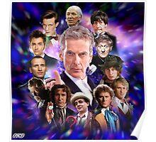 Doctor Who - Thirteen Doctors Poster