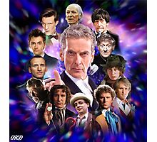 Doctor Who - Thirteen Doctors Photographic Print