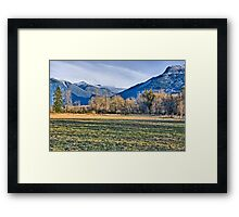 North Cascades Framed Print
