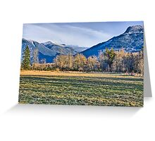 North Cascades Greeting Card