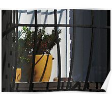 Caged Plant Poster