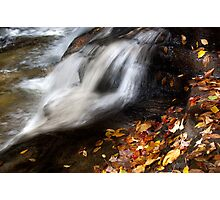 Rushing Past Autumn! Photographic Print