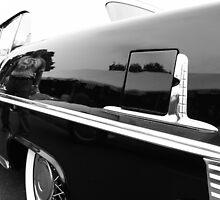 Black Classic Car by snehit