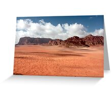 shadowed sand Greeting Card