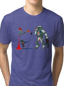 Splatoon vs. Titanfall Tri-blend T-Shirt
