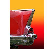 Retro Of Car Tail Lamp Photographic Print