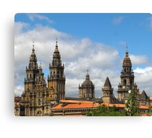 Cathedral and skyline Canvas Print