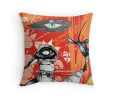 reaching for raven 13 Throw Pillow