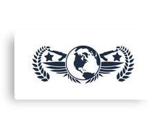 Global Elite Emblem V3 Canvas Print