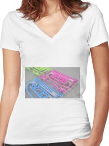 Used to love you - Graphics Women's Fitted V-Neck T-Shirt