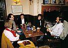 Cosy pub scene, England, 1980s. by David A. L. Davies