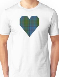 00321 Donegal County Tartan Unisex T-Shirt
