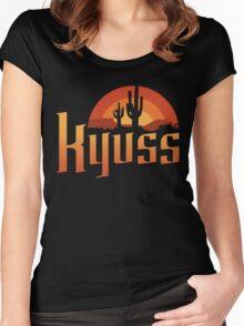 KYUSS Women's Fitted Scoop T-Shirt