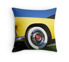 Classic Car Throw Pillow