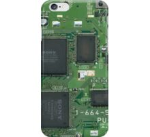 SONY Playstation 1 Circuit Board iPhone Case/Skin