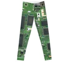 SONY Playstation 1 Circuit Board Leggings