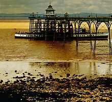 The Waverley at Clevedon Pier, Somerset, UK by buttonpresser