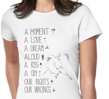 Sweet Disposition Womens Fitted T-Shirt