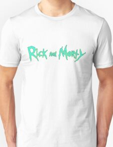 Rick and Morty Logo T-Shirt