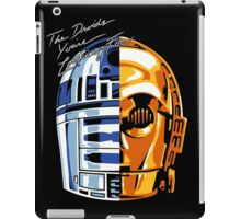 DAFT DROID iPad Case/Skin