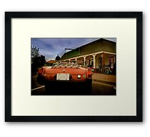 Sports Car Framed Print