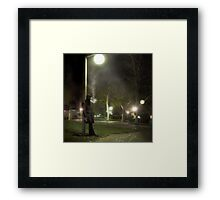 The Crime Scene Framed Print