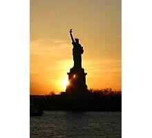 Lady Liberty Photographic Print