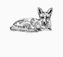 Fox Black Tonal Fineliner Drawing Unisex T-Shirt