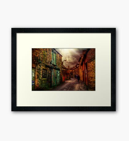 Witney Backstreets Framed Print