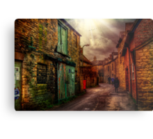 Witney Backstreets Metal Print