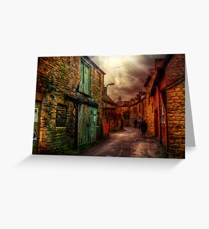 Witney Backstreets Greeting Card