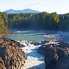 Late Summer at Moricetown Falls by Ted Widen