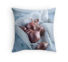 shallots Throw Pillow