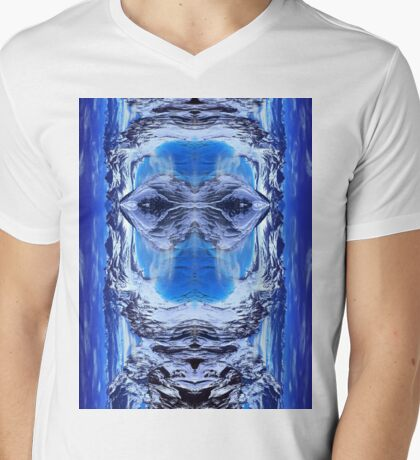 Blue mountain  Mens V-Neck T-Shirt