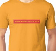 Kodachrome Movie Film Unisex T-Shirt