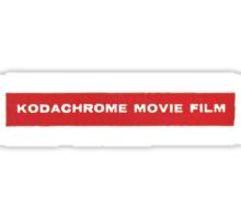 Kodachrome Movie Film Sticker