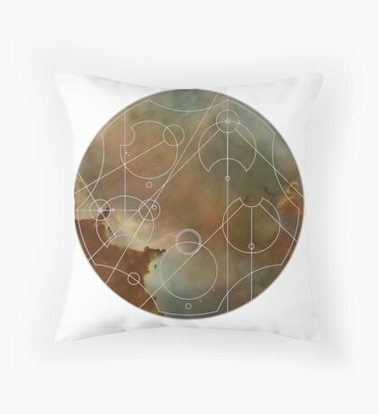 All of Time and Space Throw Pillow
