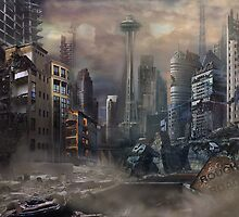 Post-Apocalypse Landscape by AnnaLisa Ibarra