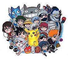 Team Anime Photographic Print