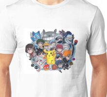 Team Anime Unisex T-Shirt