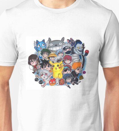 Team Anime Unisex T-Shirt