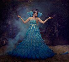 Coronation of the Blue Queen by Trini Schultz