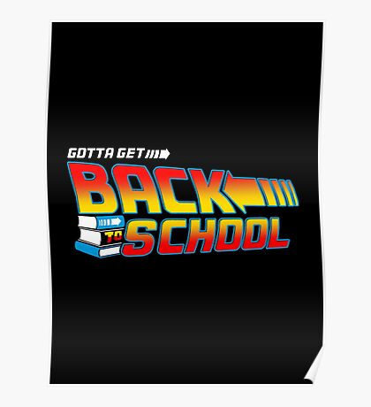 Back to School Poster