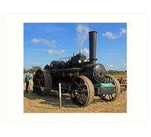 Traction Engine 1 Art Print