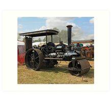 Traction Engine 4 Art Print