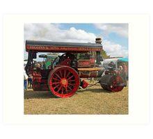 Traction Engine 10 Art Print