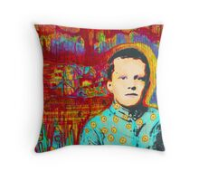 Denny Imagination On Fire Throw Pillow