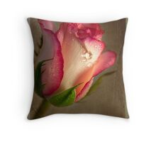 Paper Rose Throw Pillow