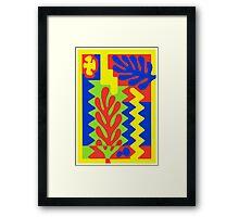 COLOURFULL 2 - GOUACHE Framed Print